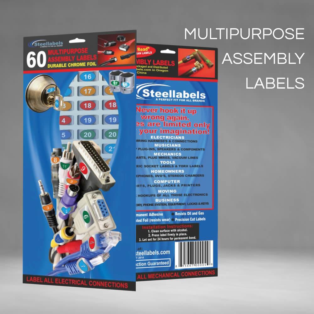 Adhesive Toolbox Labels