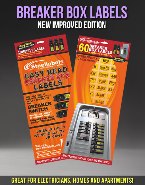 circuit breaker tags labels fits all breaker boxes square With breaker box label sheet