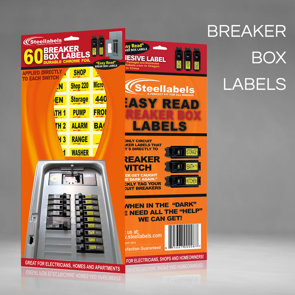 Fuse Labels Circuit Breaker Decals For Breaker Box