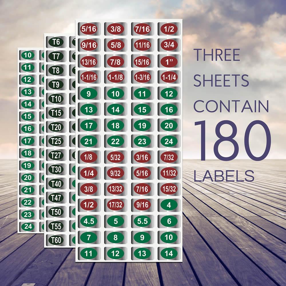 Chrome Socket Labels: Master Edition